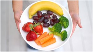 getty_rf_photo_of_plate_of_fruit_and_veggies