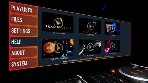 oculus rift reality decks