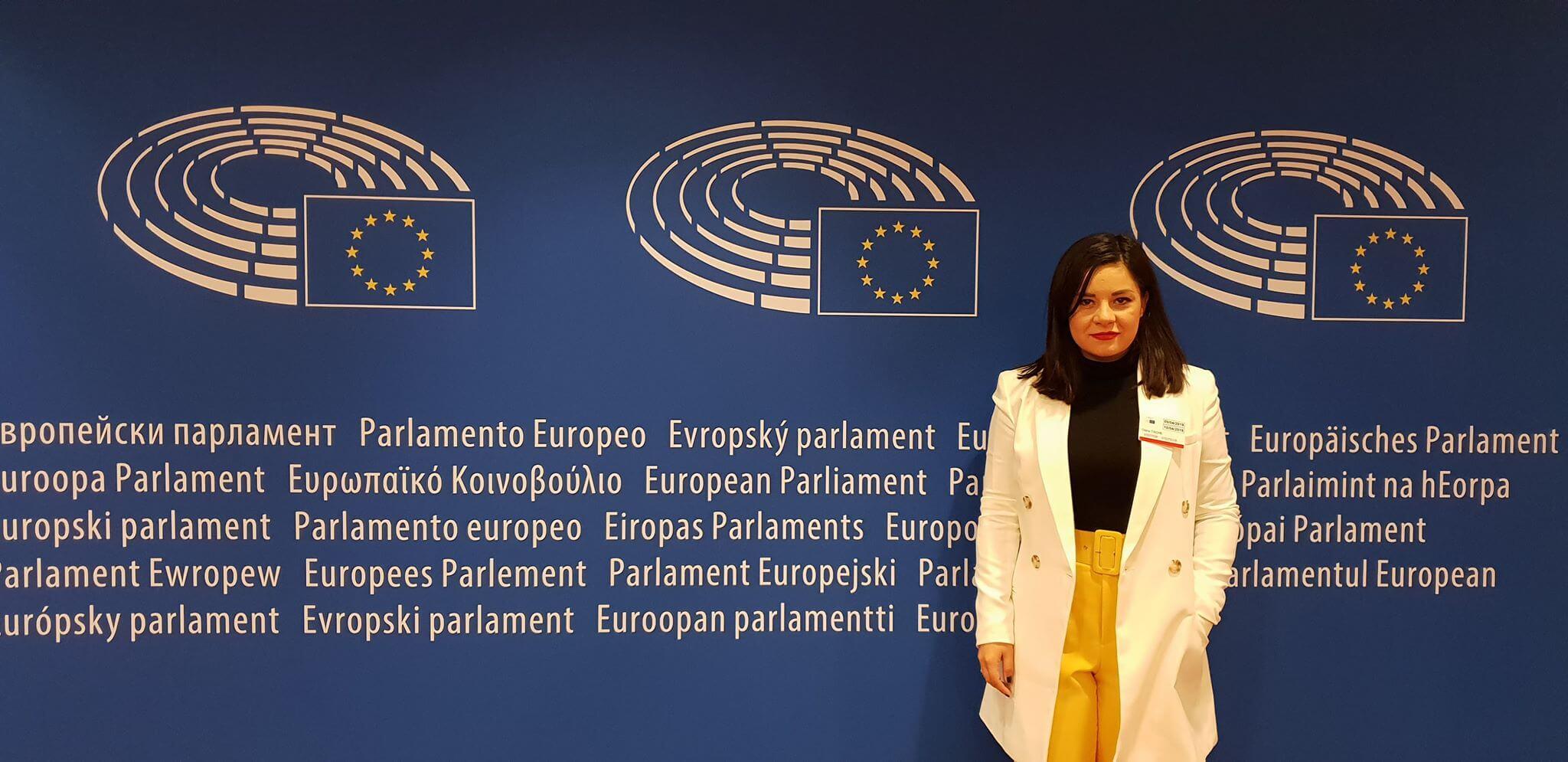 Oana Tache Parlamentul European